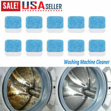1/5/10/20pcs Antibacterial Washing Machine Tub Bomb Cleaner Effervescent Tablet