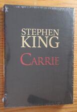 2014 STEPHEN KING CARRIE Cemetery Dance DJ-Slipcased Gift Edition CELLO-SEALED