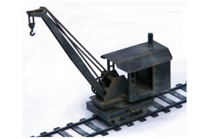 Railways Rolling Stock Steam Crane R017