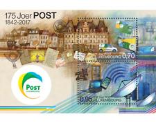 Luxemburg 2017  175jr post  luxemburg  blok     POSTFRIS/MNH