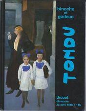 Tondu - Catalogue Drouot 20 avril 1986 [Bon état]