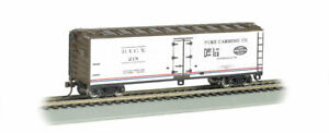 Bachmann-40' Wood Reefer - Ready to Run -- Pure Carbonic Co. DICX #6458 (white,