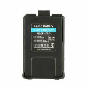 Baofeng BL-5 Battery 1800mAh 7.4V Li-ion Replacement Battery UV-5R 5RE 5RA Radio