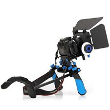 Fancierstudio FL02M DSLR Rig Follow Focus Matte Box Shoulder Flexibility Camera