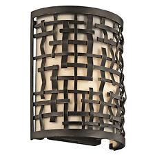 Kichler boucle 1 Litre Lampe Murale 1 x 60W E14 220-240V 50Hz CLASSE I