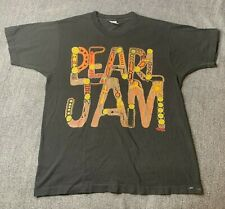 VTG 1992 PEARL JAM T SHIRT MUSIC FOR RHINOS LARGE AMES BROS BAND TOUR CONCERT