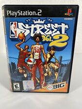 NBA Street Vol. 2 (Sony PlayStation 2, 2003) Complete PS2 Free Same Day Shipping