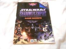 SHADOWS OF THE EMPIRESTAR WARS N64 STRATEGY GUIDE SEE PIC