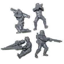 Lot 4 Pcs STAR WARS StormTrooper Droids Miniatures mini Figure by LFL no stand