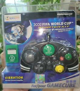Nintendo Gamecube 2002 World Cup Starter Pack Controller & Memory Card SEALED
