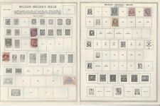 Belgium Collection 1865 to 1971 on 24 Minkus Global Pages