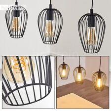 Lampe à suspension Retro Plafonnier Noir Lampe de cuisine Lustre Lampe de séjour