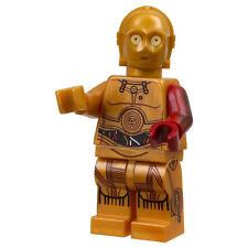 Lego 3po Star Wars C-3po C3po Red Arm Minifigure in Polybag 5002948