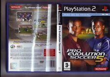Pro Evolution Soccer 5  - jeu playstation 2 / Pal --   konami