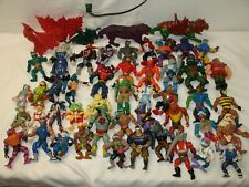 45 Vintage He-man Master Of The Universe Action Figure Lot With Accessories