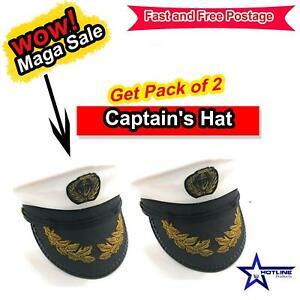 Unique Captain's Hat For Marine Sailors Costume Carnival Navy Sailor Theme Party