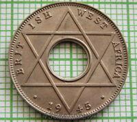 BRITISH WEST AFRICA GEORGE VI 1945 1/10 PENNY, UNC