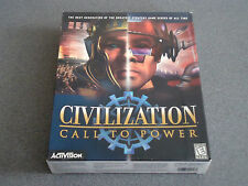 Civilization: Call to Power   WIN  95/98/NT CD-ROM    Big Box