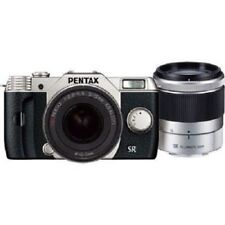 USED Pentax Q10 with 5-15mm and 15-45mm f2.8 Silver Excellent FREE SHIPPING