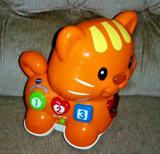 Vtech Catch Me Kitty Colors Shapes Numbers  Music Orange Cat Chase Me Learning