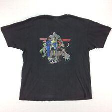 Vintage 90s RESIDENT EVIL Capcom Promo T-Shirt Mens XL Black Rare Gamer Tee