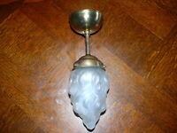 Rarität Original Jugendstil Lampe Deckenlampe Jugendstillampe ca. 1920