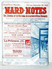 N.A.R.D. Notes September 26, 1912, Vol XIV #25 Antique And Original Magazine