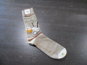 NEW Tommy Bahama Socks Mens One Size Brown Classic Wagon Blend 1 Pair