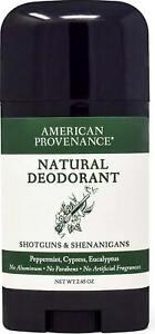 Deodorant, 2.65 oz Shotguns & Shenanigans (Peppermint Cypress Eucalyptus)