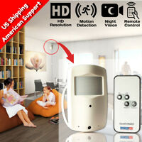 Nanny Cam DVR Hidden Motion Activated Camera Wireless SPY Night Vision Camcorder