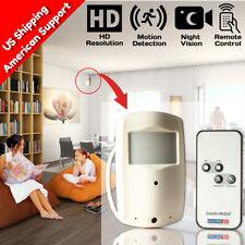 Nanny Cam DVR Hidden Motion Activated Camera Wireless SPY Night Vision Camcorder