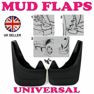 Front Rubber Moulded MUDFLAPS 2x Mud Flaps Universal Fit For TOYOTA YARIS