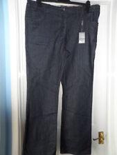 Indigo, Dark wash Bootcut Plus Size L30 Jeans for Women