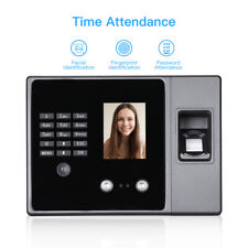Biometric Face Fingerprint Attendance Machine Reader Usb Flash Driver Amp Ethernet
