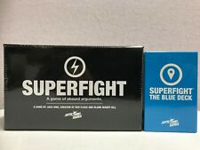 Superfight - The Blue Deck 2 Expansion - Card Game - Skybound & superfight  lot2