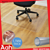 """48"""" x 48"""" Large Square PVC Chair Floor Mat Home Office Protector Hard Wood Floor"""