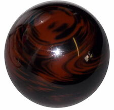 Marbled Black Brown Shift Knob 3/8-16 thread U.S. Made