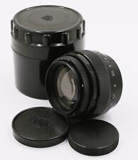 Jupiter-9 2/85mm Soviet USSR Portrait Lens M42 Screw Mount