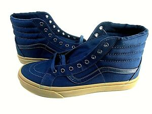 Vans Sk8-Hi Reissue Canvas Gum Men's Skateboarding Shoes,US Size 8,Medium,New