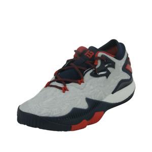 Adidas Crazylight Boost Low 2016 Boys Shoes Basketball White Navy Nylon BB8163