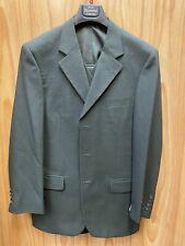 Royal Diamond 100% Wool Olive 3-Piece Suit