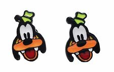 Disney's Goofy Character Metal Enamel Stud Earrings