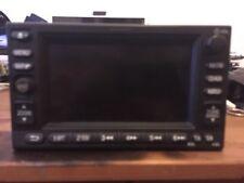 Honda CRV satnav/radio/cd headunit repair service