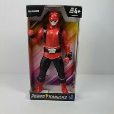 """Saban's Red Power Ranger by Hasbro 9"""" Action Figure New In Box 2018"""