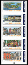 ZWEDEN 2016  Gamla Stan  postzegelboekje - booklet   postfris/mnh