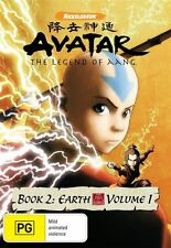 Avatar - The Last Airbender - Earth : Book 2 : Vol 1 DVD Sealed     L5