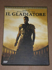 IL GLADIATORE (RUSSELL CROWE, RIDLEY SCOTT) - DVD COLLECTOR'S EDITION 2 DISCS