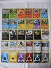 Lotto di 76 carte Pokemon BIANCO e NERO italiane NUOVE