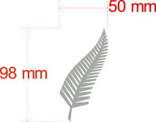 SILVER FERN AOTEAROA TO FIT IPHONE 100MM BY 50MM AUSTRALIA MADE