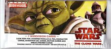 STAR WARS CLONE WARS WIDEVISION RETAIL UNOPEN PACK